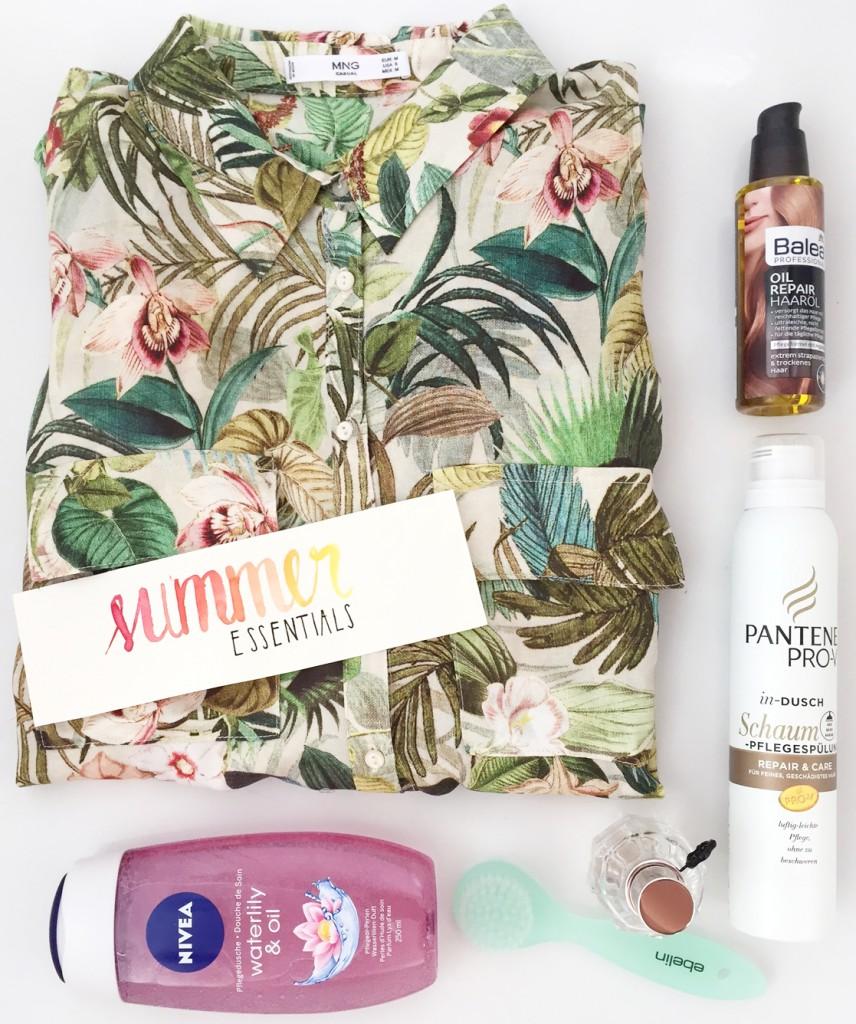 Summer Essentials 2016 Übersicht