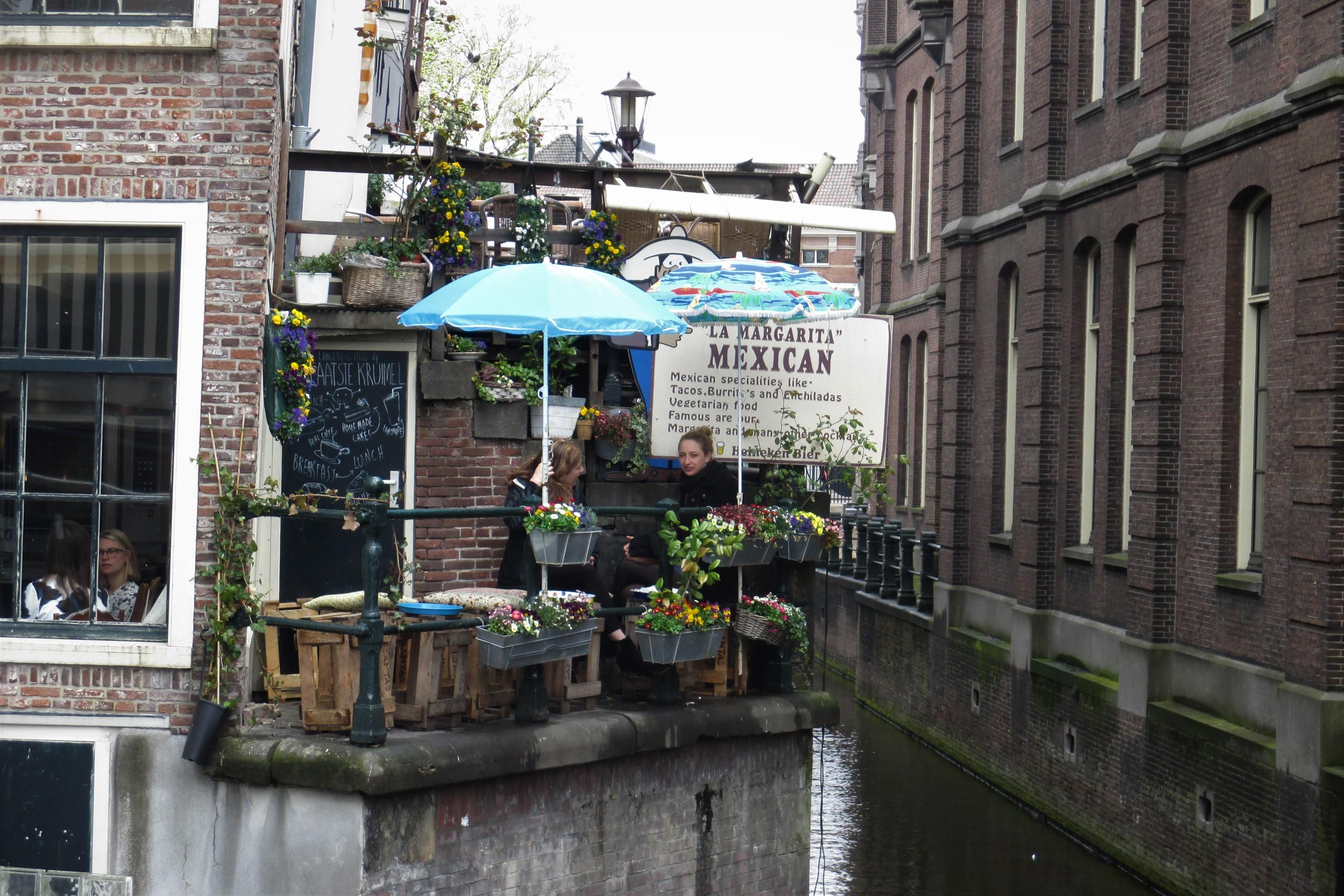 Holland Amsterdam Grachten kreativ genutzt