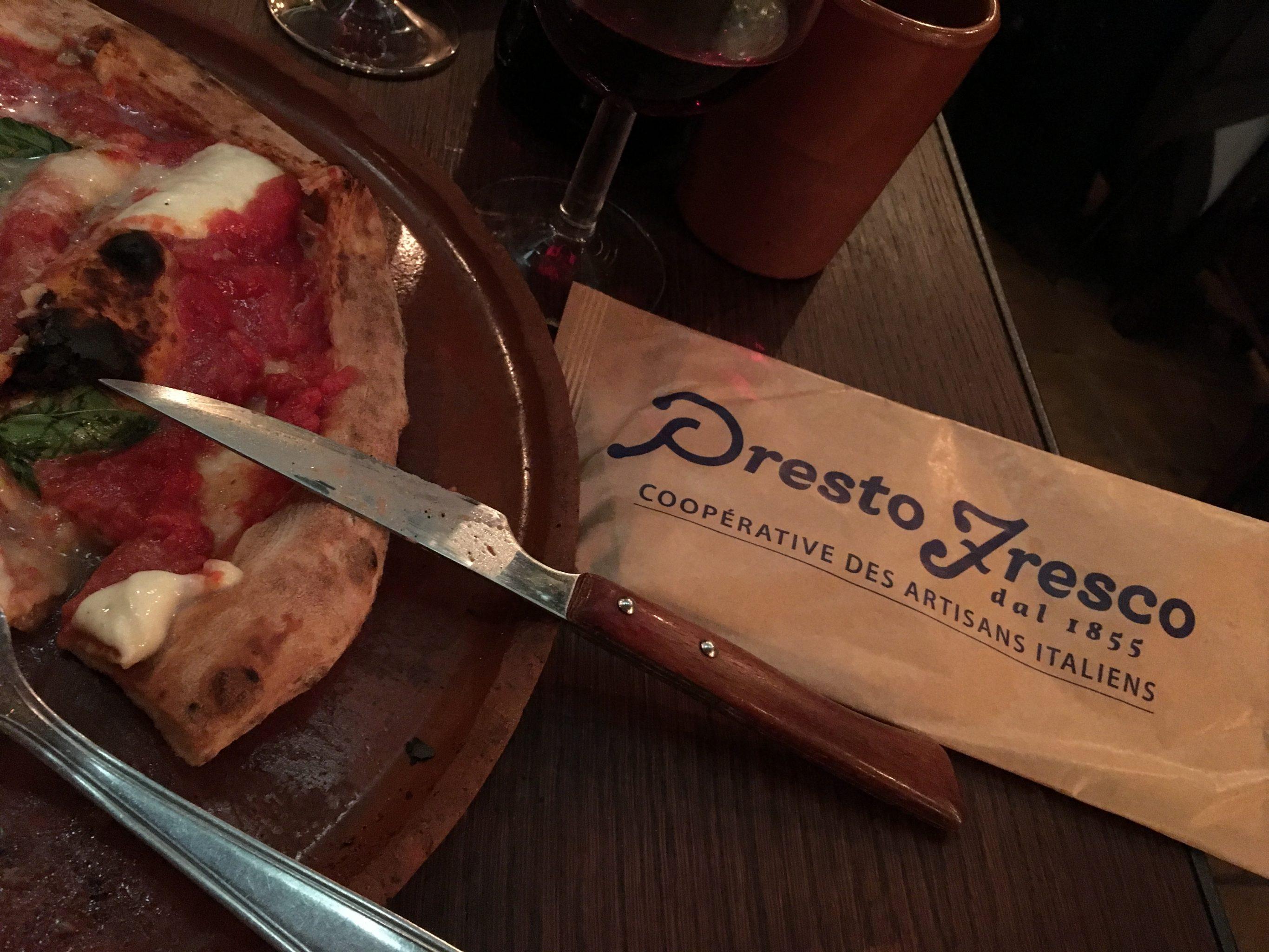 Paris Food Presto Fresco Pizza