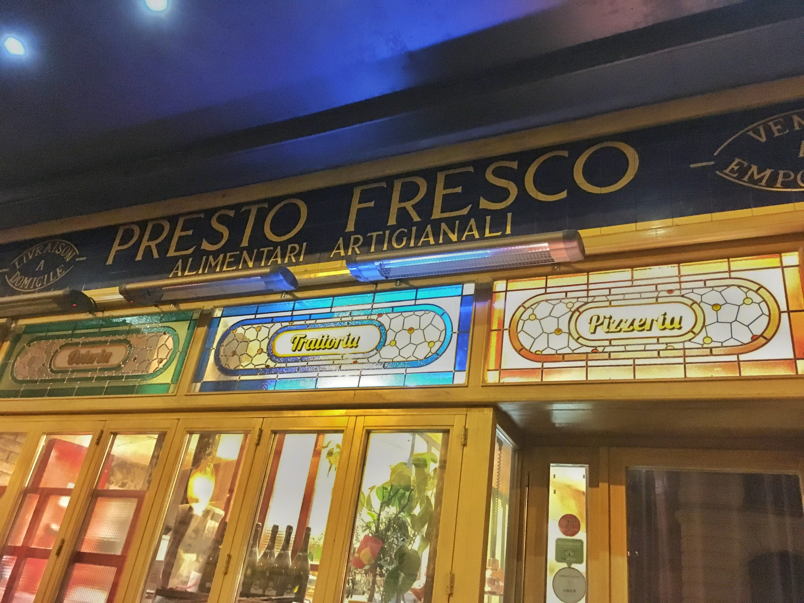 Paris Food Presto Fresco