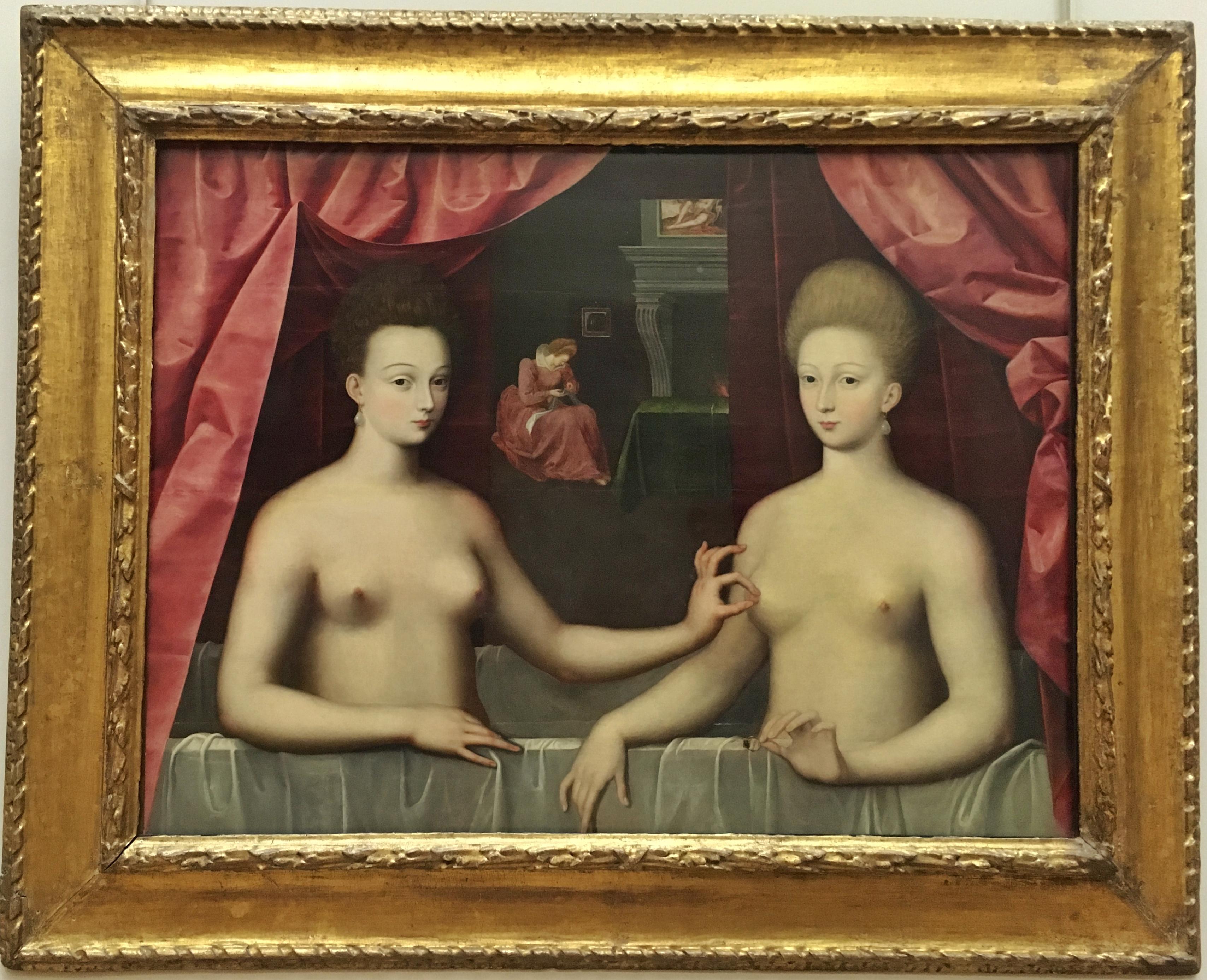 Paris Louvre Erotisches Gemälde