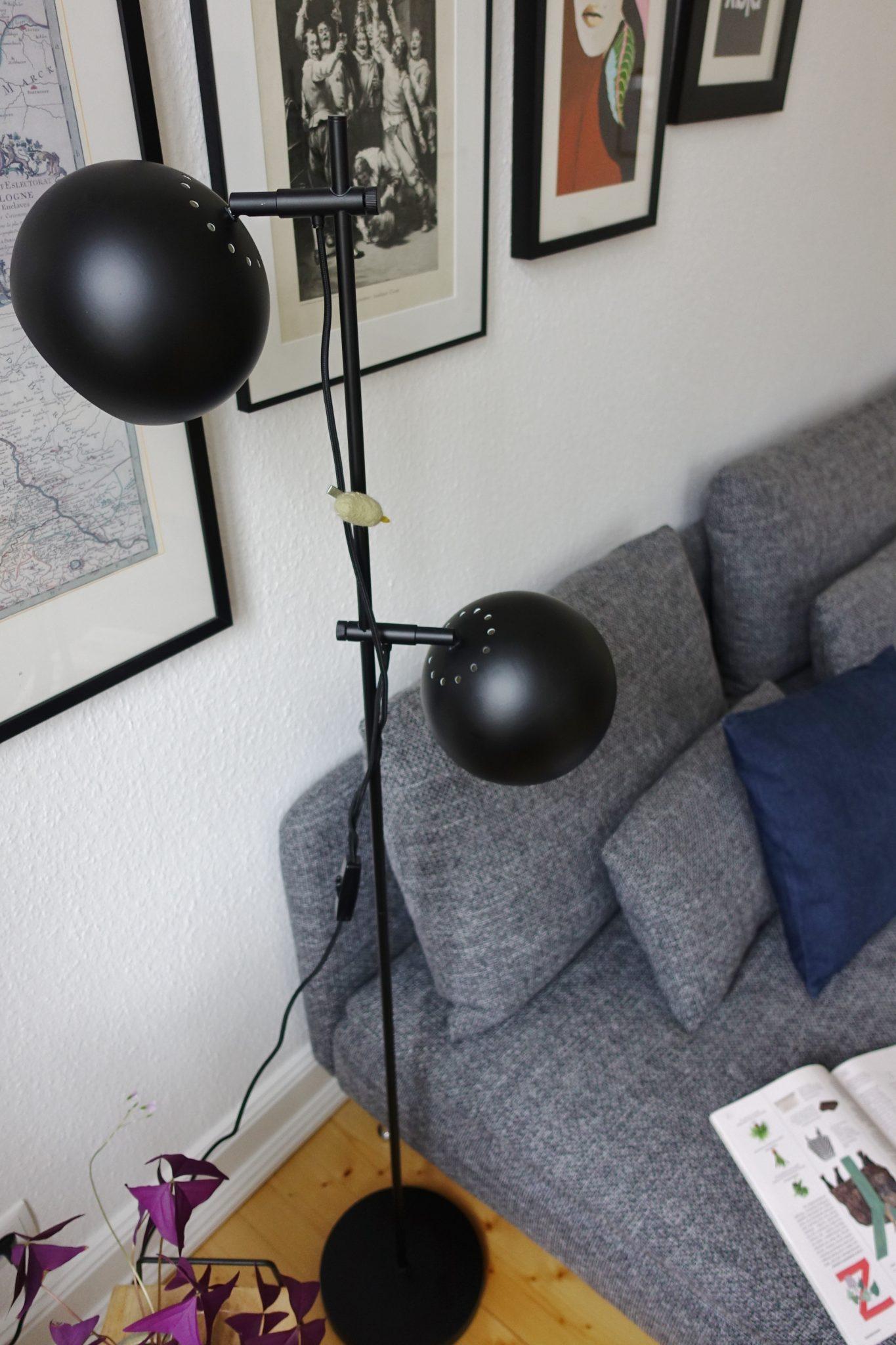 Stehlampe Frandsen schwarz