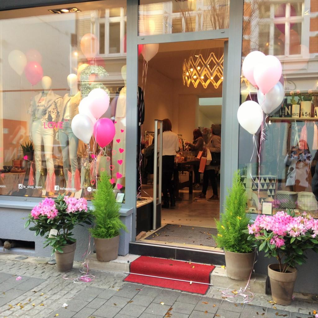 Event // le SHOP Bonn feiert Geburtstag