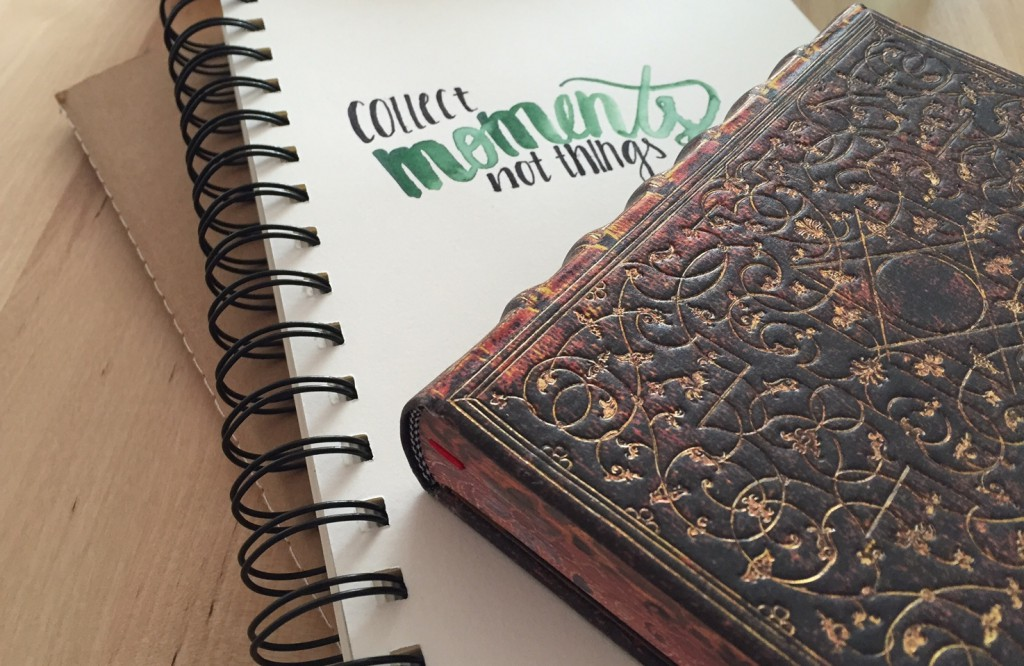 Collect moment not things – Paperblanks Grolier